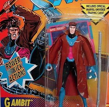 Actually Ice Man was harder to find. But everyone wanted Gambit more.